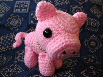 Cute Amigurumi Pigs : Amigurumi Pig Flickr - Photo Sharing!