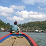 Young Boy on a Boat - Ranong, Thailand