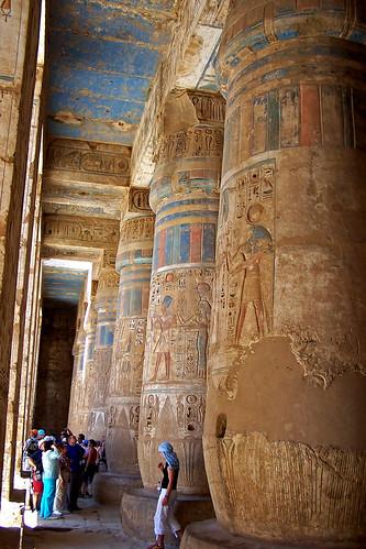 Medinet Habu, temple funerari de Ramses III, Luxor - 無料写真検索fotoq