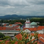 Aerial View of Trencin - Trencin, Slovakia