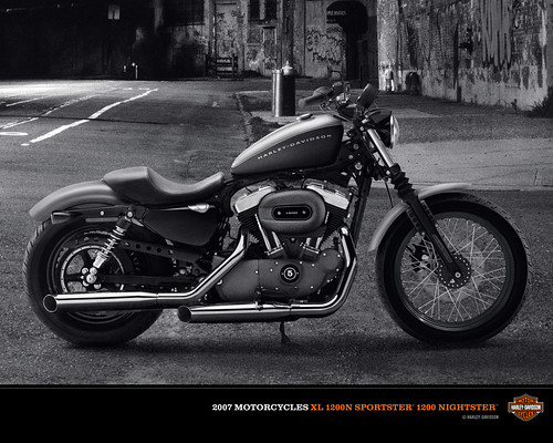 NEW Harley-Davidson XL-1200N Nightster