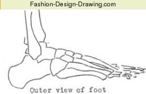 Fashion-Design-Sketches-Feet-Legs