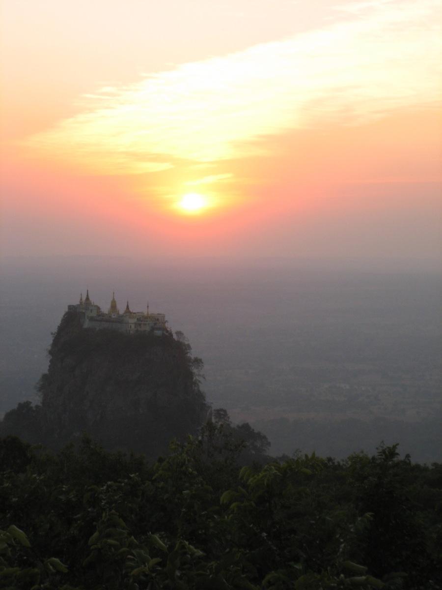 Monasterio Birmania