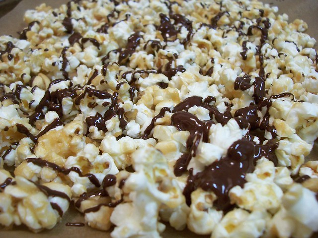 Caramel corn with chocolate drizzle IV | Explore newwavegurl ...