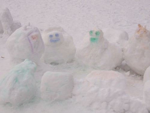 Snow family by Joseph & Sam's Mom