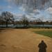 Steve's Shadow in London by Tara Holland