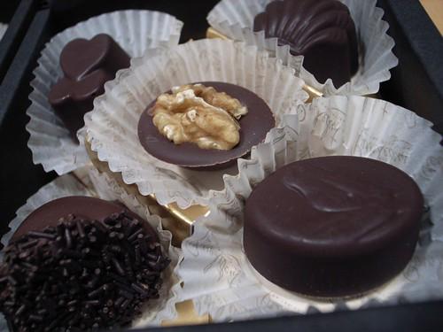 ピエール・ルドンのチョコレート