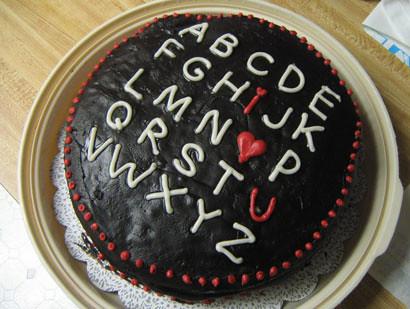 valentines day cake  Flickr - Photo Sharing!