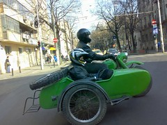 automobile, vehicle, motorcycle, motorcycling, sidecar, land vehicle,