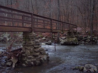 Bridge over Cedar Creek - Petit Jean State Park