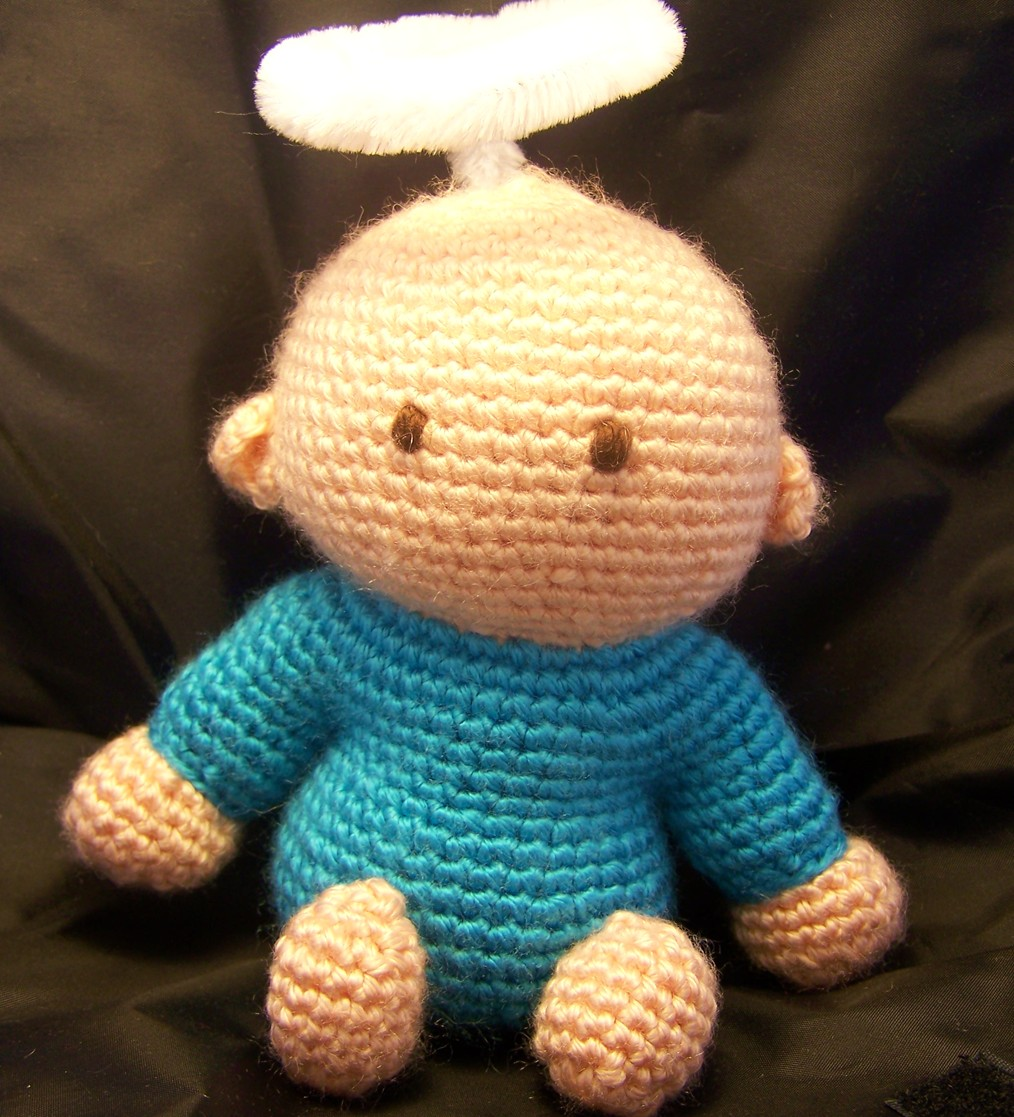 Free Amigurumi Patterns For Babies : Angel Baby free amigurumi crochet pattern - a photo on ...