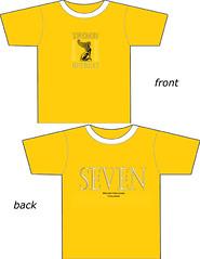 sports fan jersey(0.0), cartoon(0.0), brand(0.0), active shirt(1.0), clothing(1.0), yellow(1.0), sleeve(1.0), font(1.0), illustration(1.0), t-shirt(1.0),