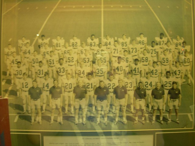 Marshall University Football Team that died on the plane crash