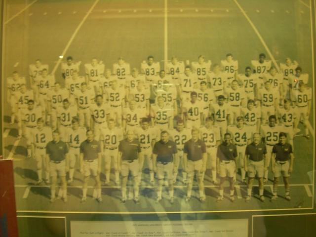 Marshall University Football Team that died on the plane crash