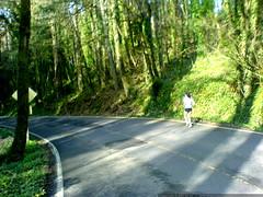 megan running down cornell road   DSC00067