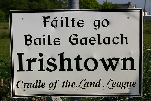Yes the name of the town is Irishtown