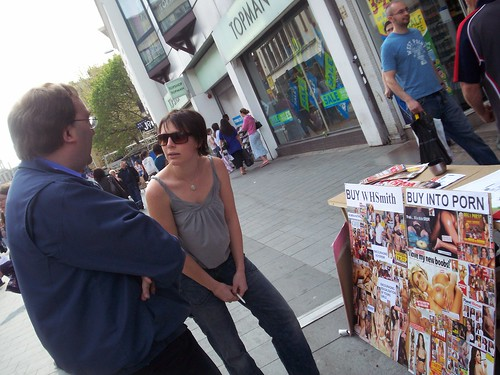 Demo against WHSmith: Stop Selling Lads Mags! « Blog of ...