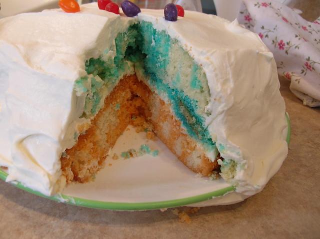 Orange Jello Cake Glaze