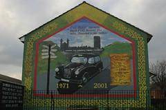 Belfast mural