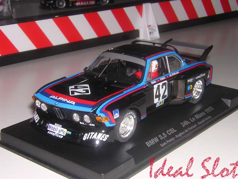 bmw 3 5 csl gitanes 24h le mans 1976 ref a 683 ideal slot. Black Bedroom Furniture Sets. Home Design Ideas