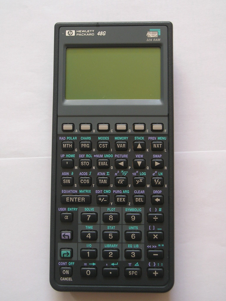 HP48G Graphing Calculator