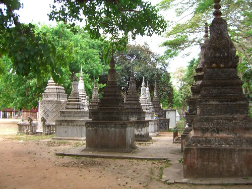 what i took to be a Buddhist cemetary