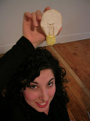 A hah! Lightbulb Cookie