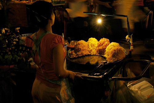 Pad Thai at Night - Bangkok, Thailand