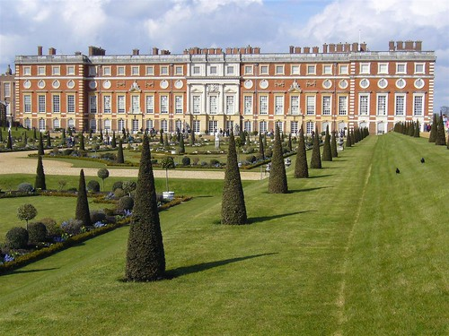 Hampton Court Palace - south facade