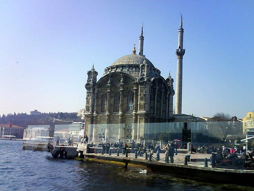 A mosque by the Bosphorus