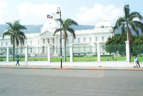 Palacio presidencial de Haití