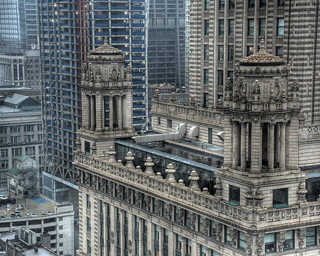 Close up of Jewelers Building