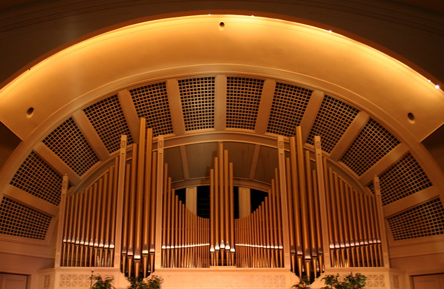 Pease Auditorium Organ Pipes