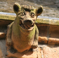Gargoyles - Dornoch Cathedral
