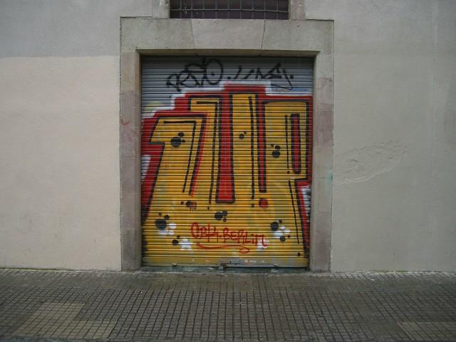 graffiti. 1up / cbk . barcelona