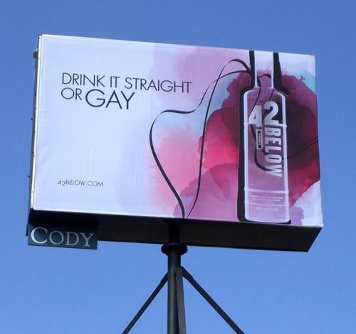 42 Below - Drink it straight or gay