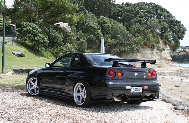 Nissan Skyline R34 GTR v-specII nür
