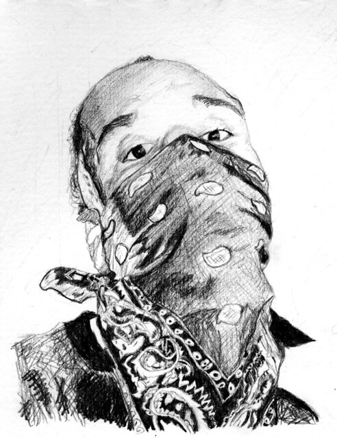 Gangster boy! | Drawing done for a friend..(in pencil ...