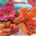 Felt Beads and Flowers by irit dulman