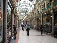 Arcades and shop windows