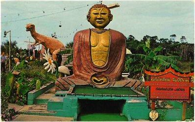 Buddha at Goofy Golf, Panama City Beach