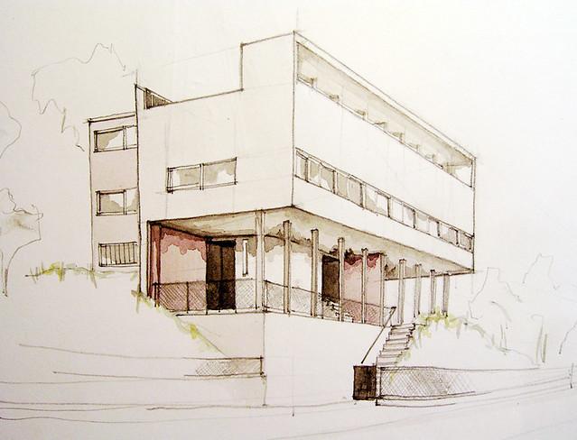 Le corbusier et pierre jeanneret flickr photo sharing for Villas weissenhofsiedlung