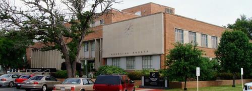 1955 texas tx 1950s courthouses lufkin easttexas countycourthouses angelinacounty uscctxangelina