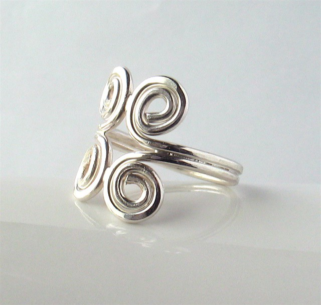 soldered silver ring flickr photo