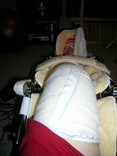 knee machine after surgery
