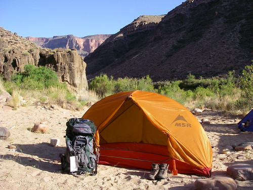 Grand Canyon - Lower Tapeats Campground at the Colorado River by Al_HikesAZ, on Flickr
