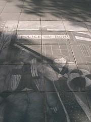 Artwork on Southbank Pavement
