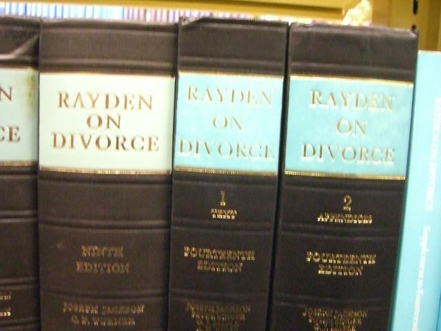 """Rayden on Divorce"""