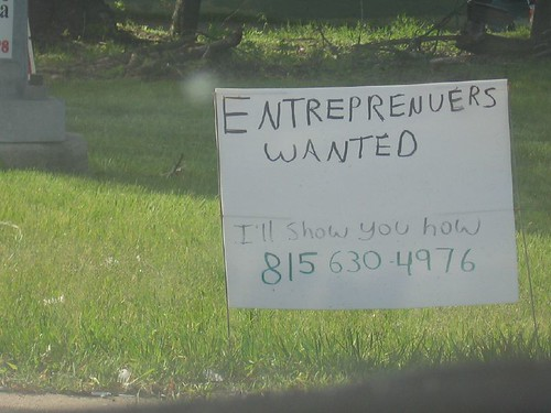 """Entreprenuers Wanted"""