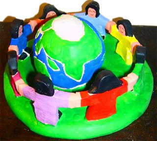"77. ""God's Children unite to protect Earth"""
